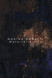 MARINA BONATTI-Material Artist- Art portfolio smartphone