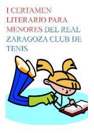 I Certamen Literario Infantil del RZCT