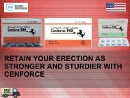 Retain your erection as stronger and sturdier with cenforce
