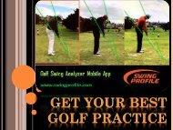 Get Best Training In Golf Training Aid|Swing Profile