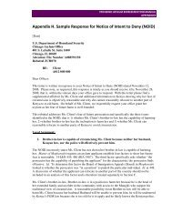 Appendix H. Sample Response for Notice of Intent to Deny (NOID)