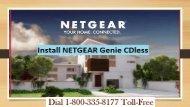 18003358177 Install NETGEAR Genie CDless