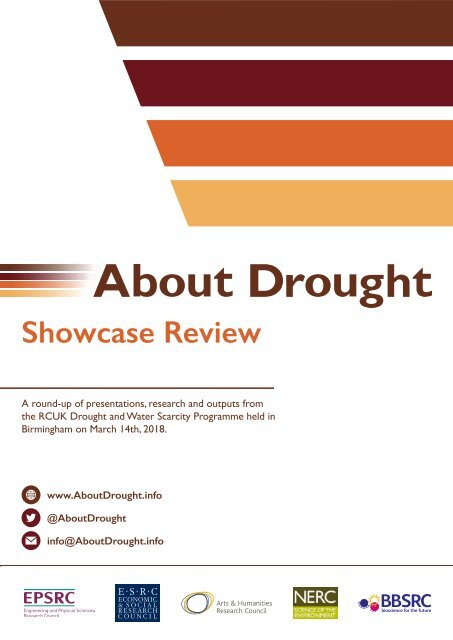 About Drought Showcase Review (Post-Event)