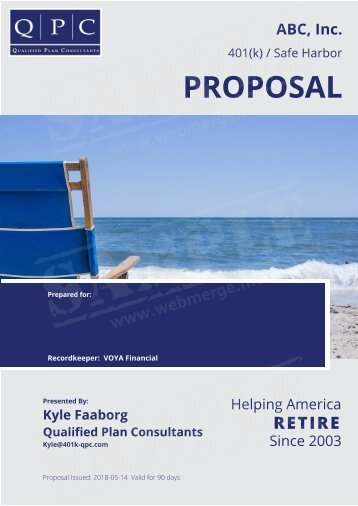 ABC, Inc. Proposal