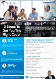 3 Steps To Get You The Right Cover - Business Insurance Broker in Melbourne