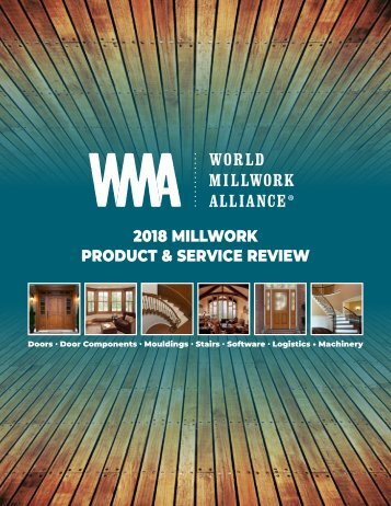 2018 Millwork Product & Service Review BOOK_051418_V7
