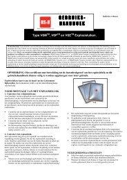 GEBRUIKS- HANDBOEK - BS&B Safety Systems