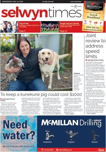 Selwyn Times: May 16, 2018