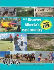 2018 Discover Alberta's East Country