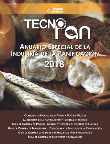 ANUARIO ESPECIAL DE LA INDUSTRIA DE LA PANIFICACIÓN - TECNO PAN 2018