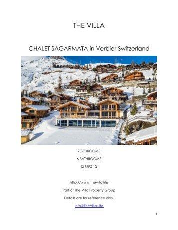 Chalet Sagarmata - Verbier Switzerland