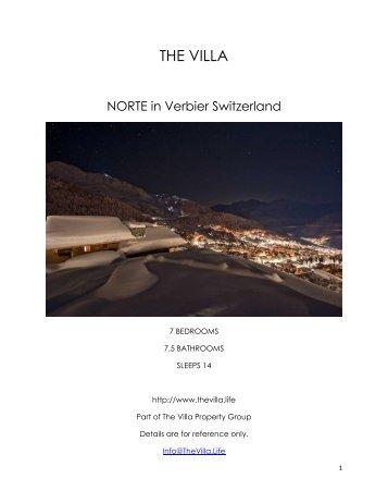 Norte - Verbier Switzerland