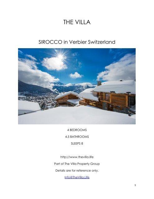 Sirocco - Verbier Switzerland