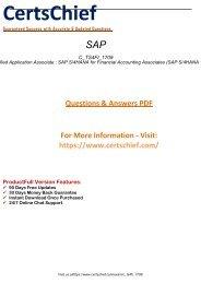 C_TS4FI_1709 Free PDF Demo 2018