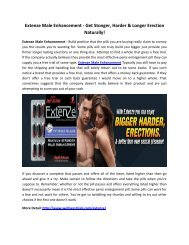 Extenze Male Enhancement -  Fast-Acting Formula For Long-Lasting Erections!