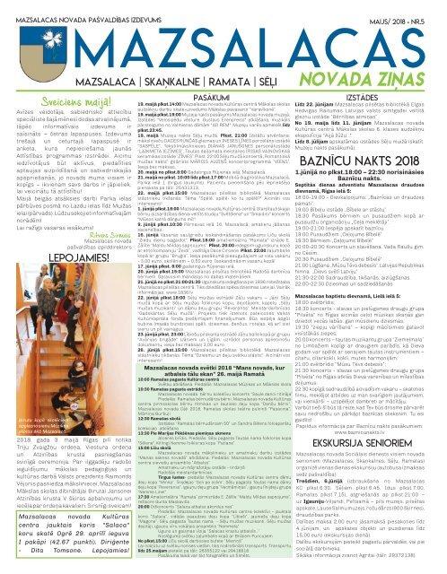 Mazsalacas novada ziņas_maijs_2018