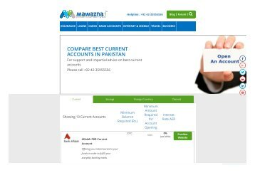 open online bank account in pakistan free