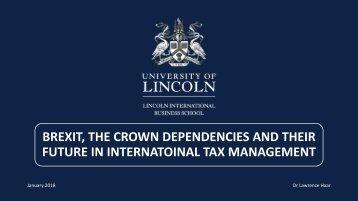 6. Brexit and the Crown Dependencies - Lawrence Haar