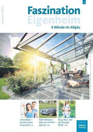 Faszination Eigenheim im Oberallgäu