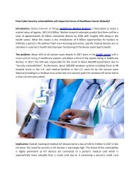 Health Care Business Review, Health Care Industry Research and Market Reports-Ken Research
