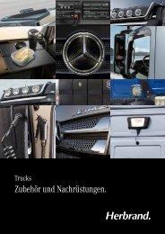 Herbrand Broschüre Zubehör + Nachrüstungen