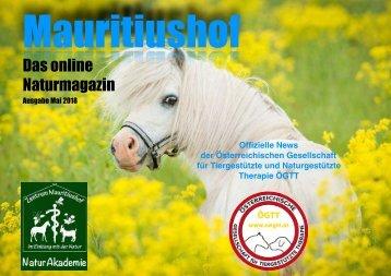 Mauritiushof Naturmagazin Mai 2018