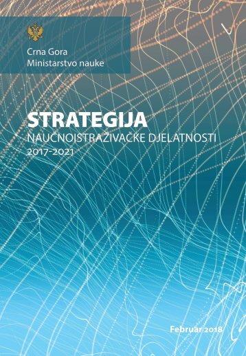 Strategija naučnoistraživačke djelatnosti (2017-2021)  (1)