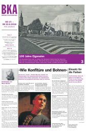 Berner Kulturagenda 2018 N°19