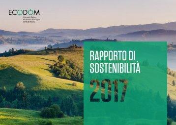 Ecodom - Rapporto Sostenibilità 2017