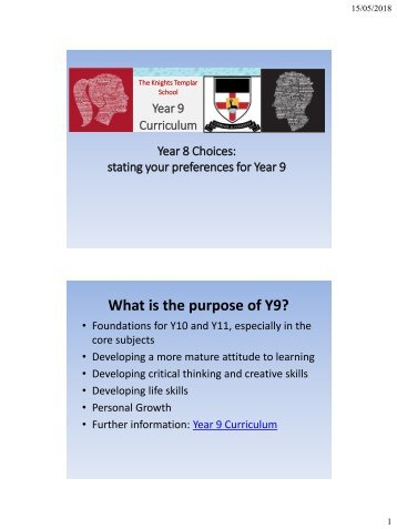 Year 8 Choices - Year 8 Assembly