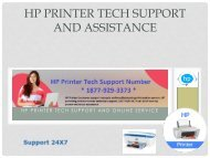 HP Printer Tech Support And Assistance