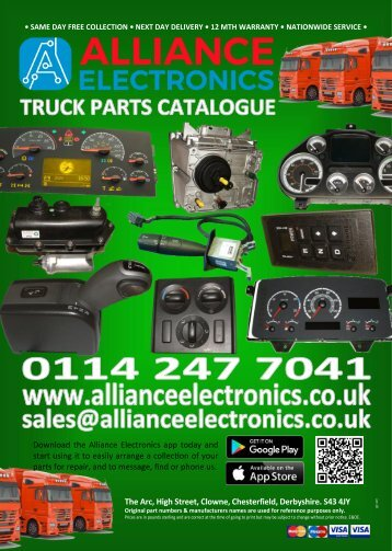 TRUCK CATALOGUE 2018