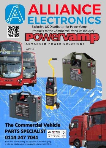 Alliance Electronics Ltd Powervamp Products 2018