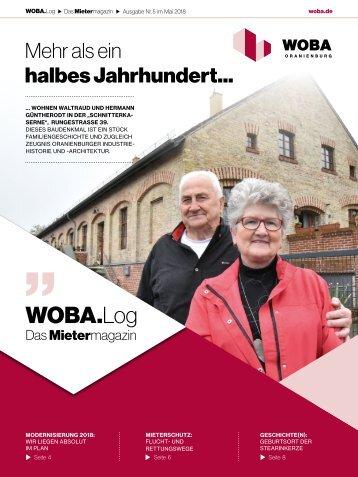 WOBA.Log - Mai 2018