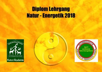 Diplom Natur-EnergetikerIn