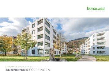 Dokumentation Eigentumswohnungen Sunnepark in Egerkingen