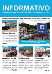 Informativo Prefeitura Municipal de Santa Maria de Jetibá