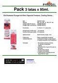 Flyer Pyrogel - Pasta combustible - Bio Etanol - Page 3