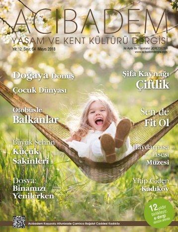 SAYI:64 ACIBADEM Yaşam ve Kent Kültürü Dergisi