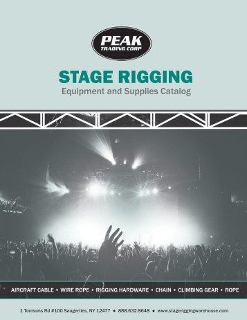 Stage Rigging Catalog