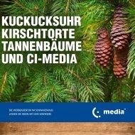 ci-media GmbH Werbeagentur - Imagebroschüre