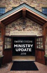 TFL Ministry Update 2018