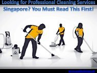 Home Cleaning Services Singapore Review
