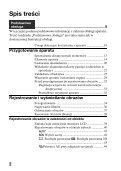 Sony SLT-A65M - SLT-A65M Consignes d'utilisation Polonais - Page 2