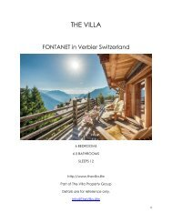 Fontanet - Verbier Switzerland