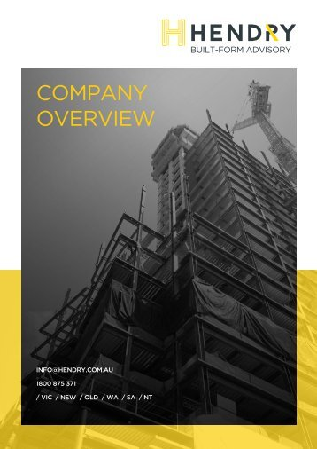 HENDRY Corporate Brochure_MAY 18 V6