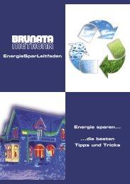 EnergieSparLeitfaden - BRUNATA Wärmemesser GmbH & Co. KG