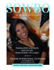 SOWBO Magazine 2nd edition