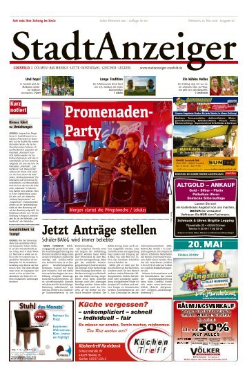 Stadtanzeiger Coesfeld kw 20