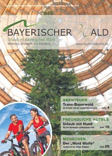 Süddeutsche Beilage Bayerischer Wald 19.5.2018